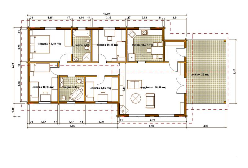 Pianta di una casa di 80 mq idee creative di interni e for 2 br 2 piani casa bagno