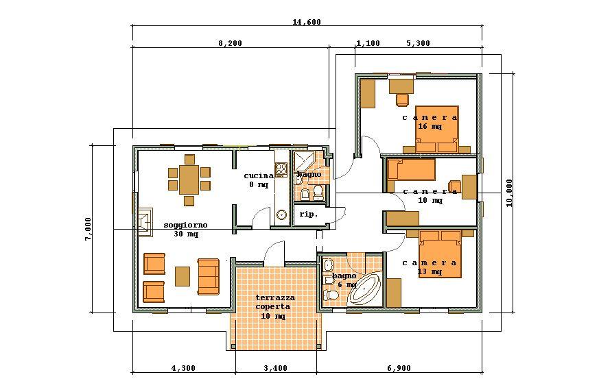 Affordable amazing fabulous piantine quotate oltre mq with for Aprire le planimetrie per le piccole case
